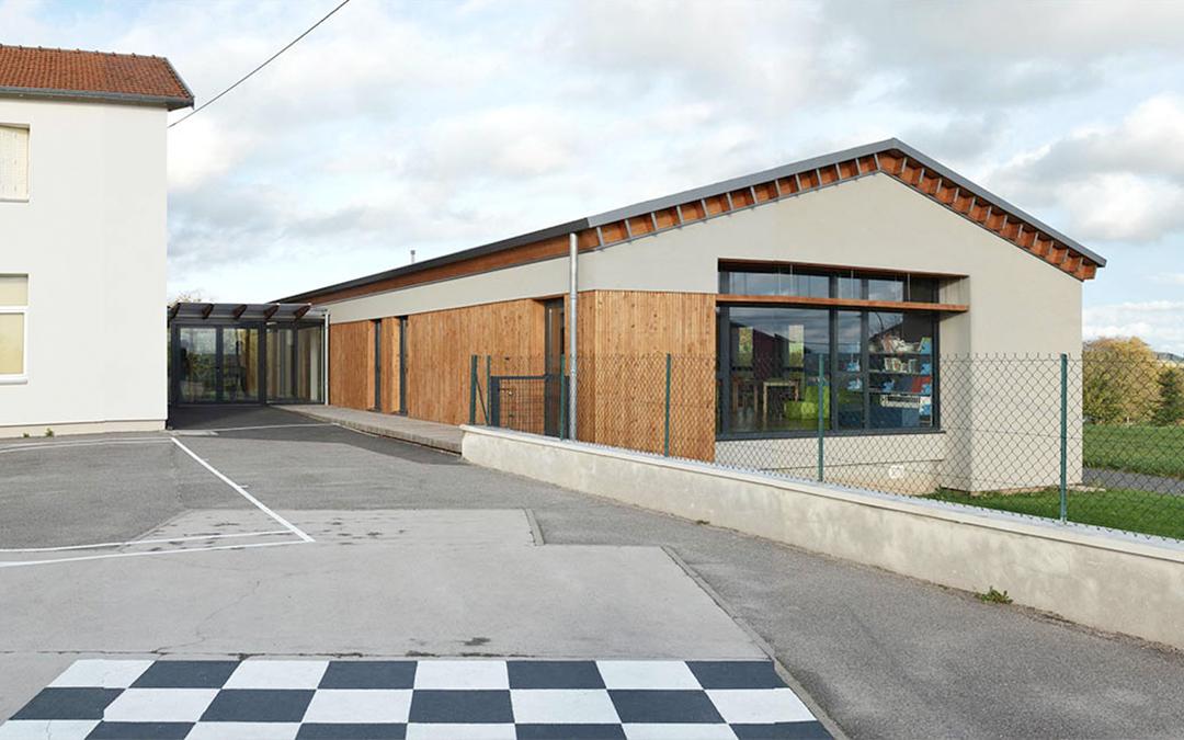 Salle multi-usage de l'école de Rozelieures (54)