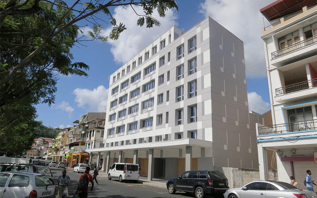 Immeuble tertiaire «La Levée» – Fort-de-France (Martinique)