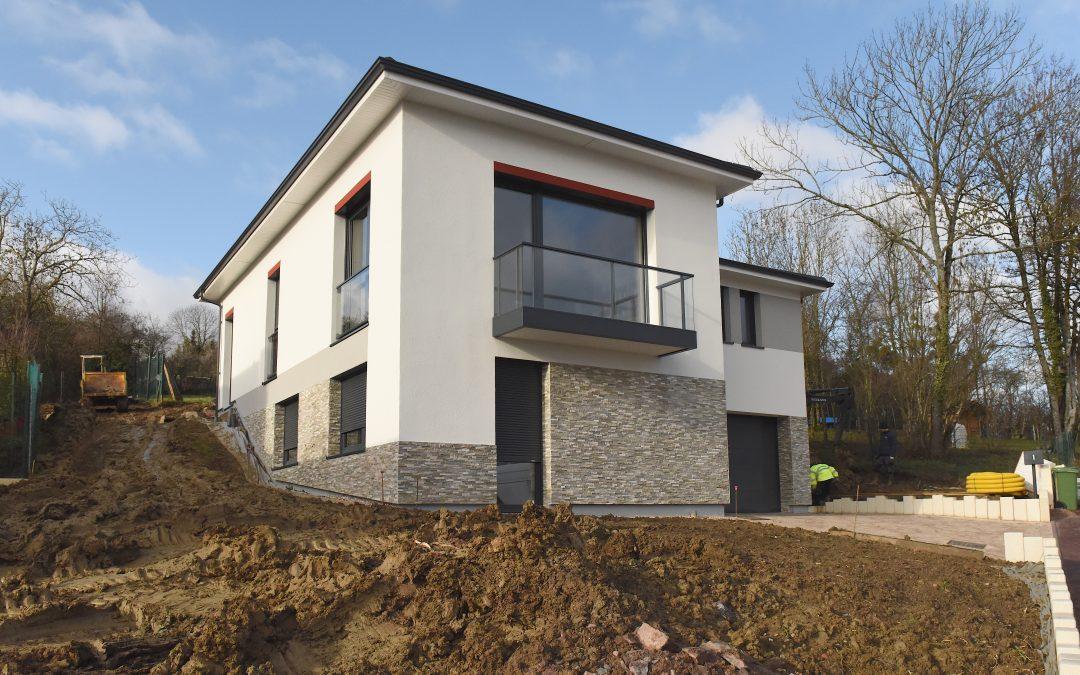 CONSTRUCTION D'UNE MAISON INDIVIDUELLE – Vandoeuvre-les-Nancy (54)