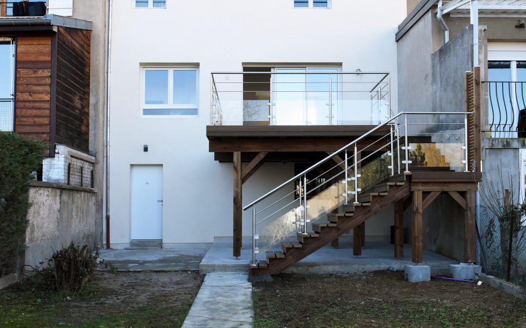 Réaménagement du RDC et de la terrasse – Villers Les Nancy (54)